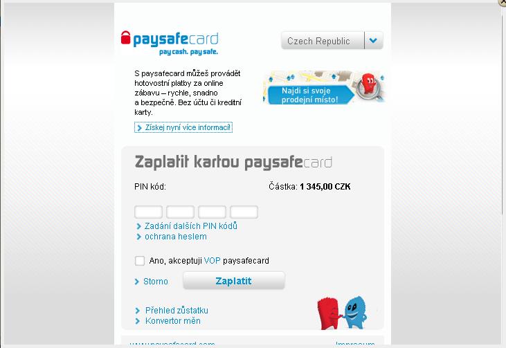 Paysafecard Wiki